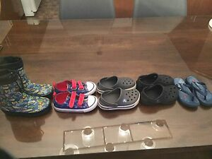 Botte d'eau et chaussures