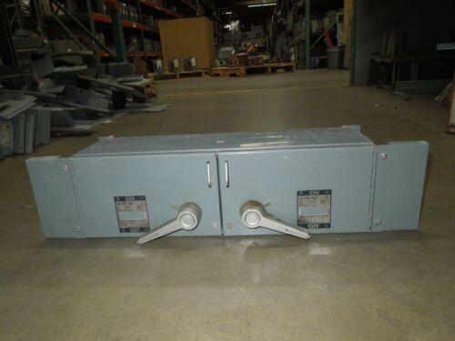 Westinghouse Fdp Unit Fdpt3633r 100/100a 3p 600v Twin Fusible Panelboard Switch