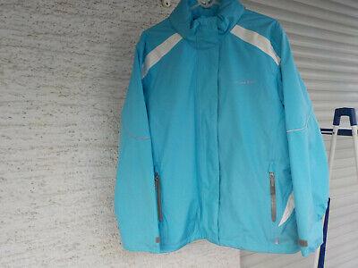 Damen-Trekking- Outdoor- Regenjacke türkis Gr.44/46, Wasser- Winddicht  *TOP*