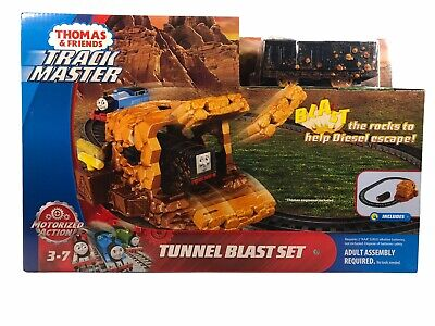 Thomas And Friends Track Master Tunnel Blast Set with Exclusive Diesel Train