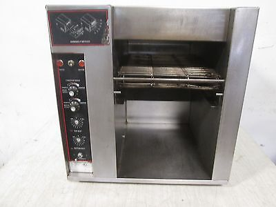 """""""APW - BT-15"""" HD COMMERCIAL 208V/1Ph ELECTRIC BAGEL/MUFFIN CONVEYOR TOASTER"""