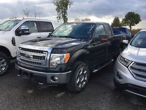 2013 Ford F-150 XLT SuperCab 6-ft. Bed 4WD