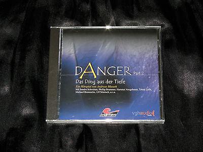 DANGER 2 DAS DING AUS DER TIEFE MARITIM GRUSEL H RSPIEL CD VGH AUDIO NEU OVP