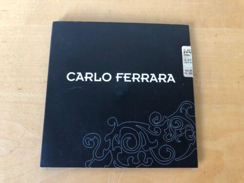 Press Release CD - Carlo Ferrara - Zaffiro - For Collectors