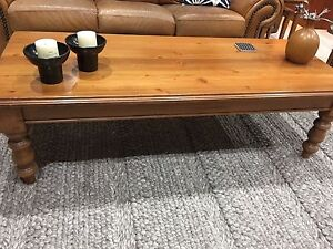 Baltic pine coffee table. Brownlow Hill Wollondilly Area Preview