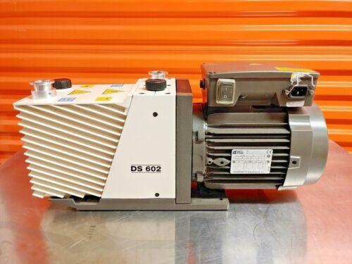 Agilent Varian DS 602 Rotary Vane Vacuum Pump - Working
