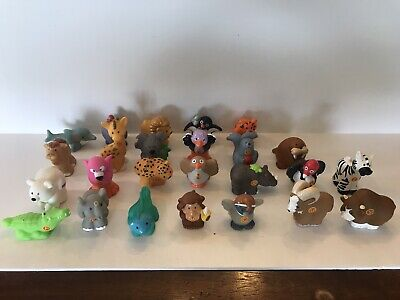 Fisher Price Little People A To Z Learning Zoo Alphabet Animals 25 Pc Set
