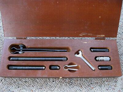 Vintage Scherr-tumico Group 1 Tubular Inside Micrometer Set 10-4533 Original