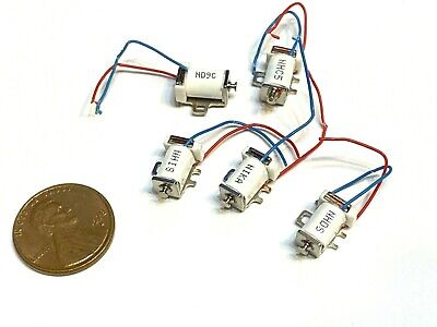 5 Pieces Miniature Solenoid Suction Rod Push Pull Micro 5v 6v Electromagnet C21