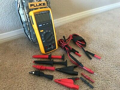 Fluke 233 Wireless Remote Display Multimeter W Case And Attachments