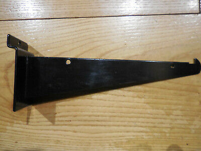 8 Black Slatwall Shelf Bracket