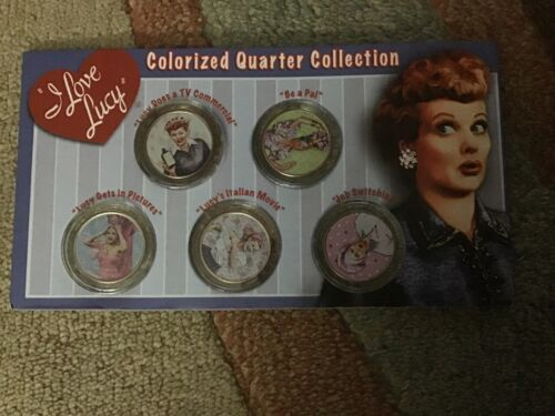I Love Lucy Colorized Quarter Collection - $9.99