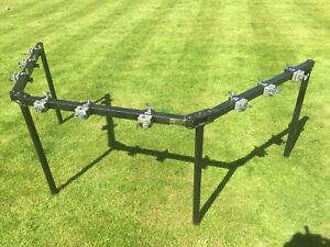 Pearl 3-Sided Drum Rack with 9drum clamps