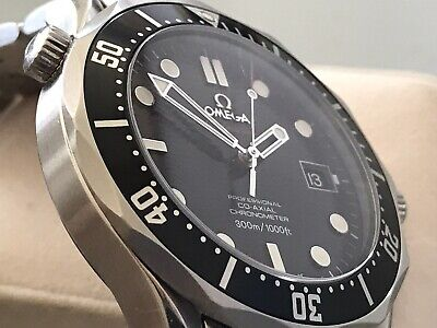 OMEGA SEAMASTER PROFESSIONAL CO-AXIAL 300M DIVER - BLACK WAVE DIAL & BEZEL 2010