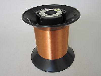 40 Awg  2.50 Lbs.  Elektrisola E180 Heavy Enamel Coated Magnet Wire
