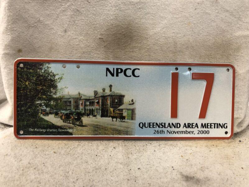 Australia NPPC Souvenir License Plate #17