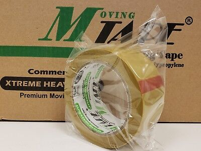 36 Rolls Beige Carton Sealing Packing 1.7 Mil Shipping Box M-tape 2 X 100 Yards