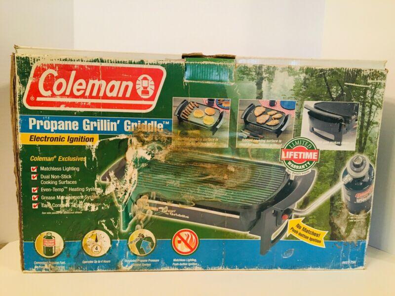 Vintage COLEMAN Propane Grillin Griddle 9931-750 *BRAND NEW*