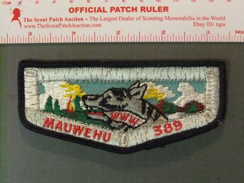 Boy Scout OA 389 Mauwehu flap 6679JJ