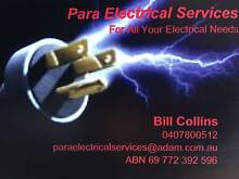 PARA ELECTRICAL SERVICES Para Hills West Salisbury Area Preview