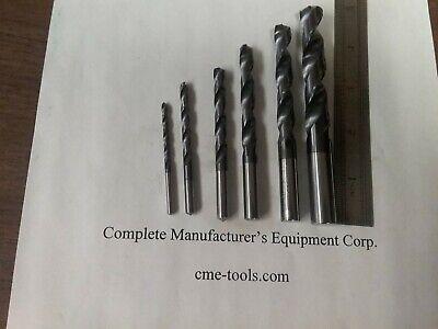 6pcs solid carbide center drills Tialn coated #1,#2,#3,#4,#5,#6 530-CTN