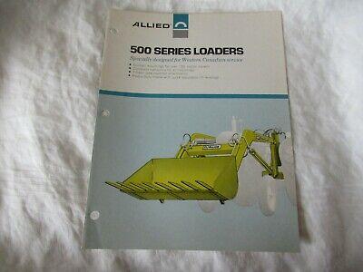 Allied 500 Series Loader Brochure