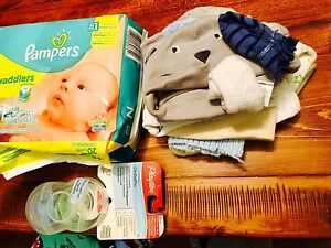 Lot of Baby Boy Items 0-3 months - OVER 70 ITEMS Cambridge Kitchener Area image 6