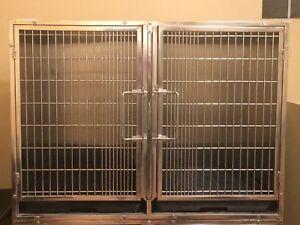 Cage pour salon toilettage