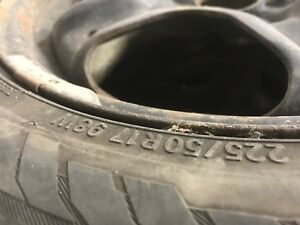 225/50/16 Tires and rims