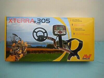 Boxed Minelab X-Terra 305 VFlex Metal Detector *READ FULL DESCRIPTION*