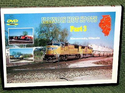 "n067 TRAIN VIDEO DVD ""ILLINOIS HOT SPOTS"" PART 3"