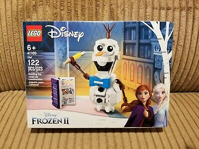 New, Sealed Lego Olaf the Snowman Frozen 2 Disney Princess Lego 41169