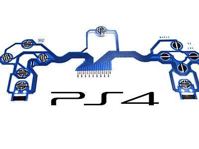 PS4 Controller Dualstock 4 Flex Kabel Platine Tastenfolie Leiterbahn Conductive
