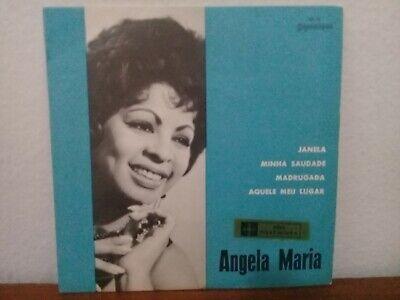 "7"" ANGELA MARIA EP ""MADRUGADA"" SAMBA JAZZ BRAZIL VG+ ZE KETI MONSUETO MENEZES comprar usado  Brazil"