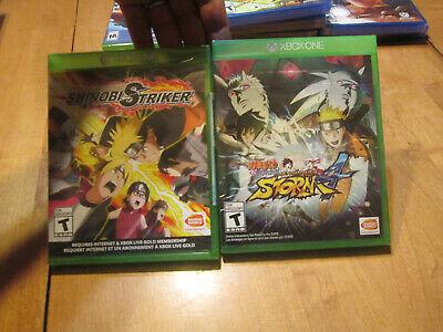 Naruto to Boruto Shinobi Striker + Shippuden Ultimate Ninja Storm 4 XBOX ONE LOT comprar usado  Enviando para Brazil