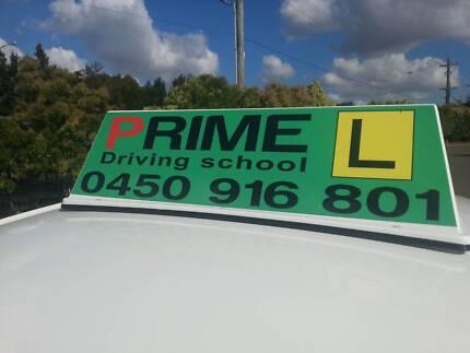 Prime Driving School $30 Blacktown CBD.Weekend $40