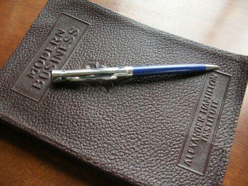 4837) Kiwanis International Logo Blue And Silver Tone Ball Point Pen Garland USA