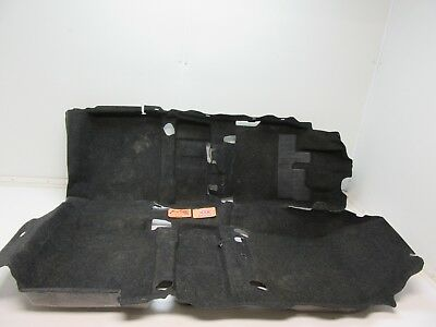 MAIN FLOOR CARPET MAT BLACK FRONT REAR SCION TC DRIVER PASSENGER SIDE CAR 11-16