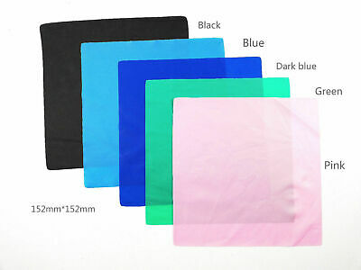 Dental Endodontic Rubber Dam Sheets For Clamps Punches Latex Medium 6x6 Adult