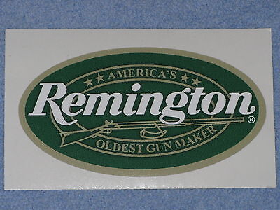 REMINGTON FIREARMS OLDEST GUNMAKER OVAL VINYL STICKER DECAL FREE SHIPPING RIFLE