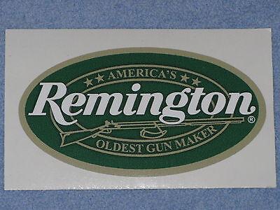 REMINGTON FIREARMS OLDEST GUNMAKER OVAL VINYL STICKER DECAL FREE SHIPPING GUN