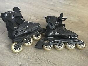 Roller blades in good shape for boys size 5