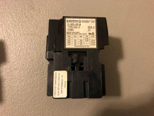 NEW NO BOX SQUARE D CONTACTOR 8910 KO-3 SERIES D