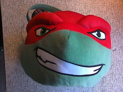 Raphael TMNT Teenage Mutant Ninja Turtle Halloween Easter Plush Basket Bucket L