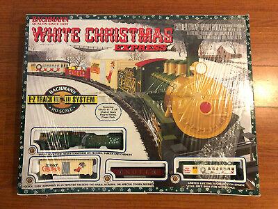 Bachmann White Christmas Express Electric Train Set HO Scale