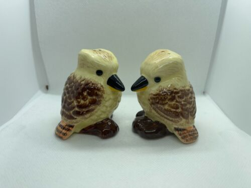 Kookaburra Salt and Pepper set for lovely gift and nice decoration