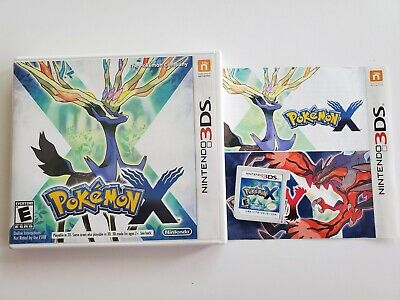 Nintendo 3DS Pokemon X Video Game
