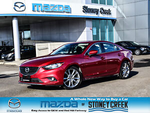 2015 Mazda Mazda6 GT Nav Leather Heated Seats Rear Cam Moonroof