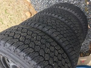 F150 steel wheels and tires
