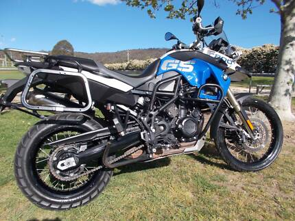 bmw f800gs with all the extras, trade for naked road bike